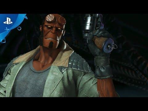 إستعراض قدرات Hellboy في Injustice 2