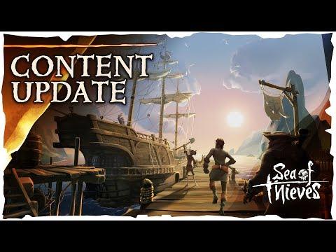 Sea of Thieves تحصل على تحديث جديد للألفا التقنية