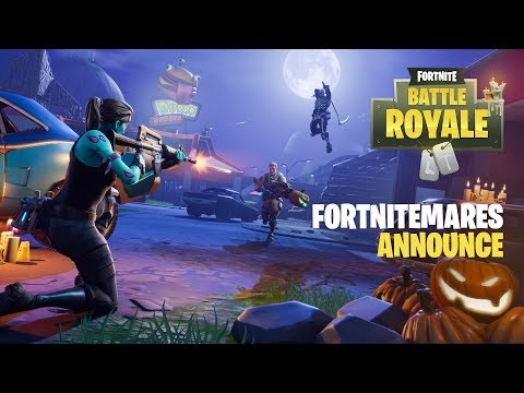 Fortnite تحصل على تحديث الـHalloween لطور Battle Royale
