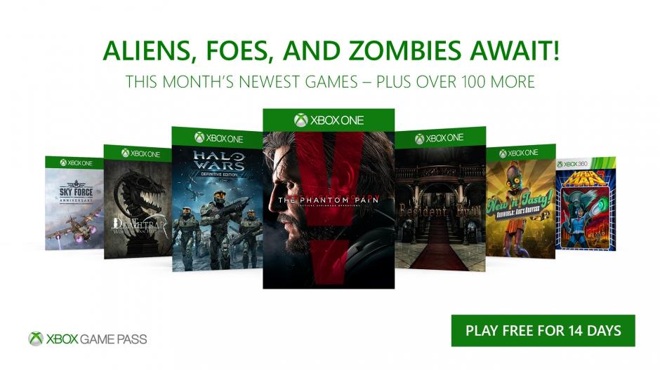 MGS V: The Phantom Pain و المزيد من الألعاب تنضم إلى خدمة Xbox Game Pass في نوفمبر