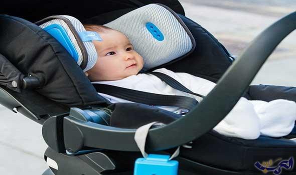 أب يخترع جهاز سيارة لتنقية الهواء بجانب رأس الطفل