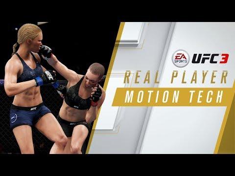 إستعراض الإلتقاط الحركي الواقعي للعبة EA SPORTS UFC 3