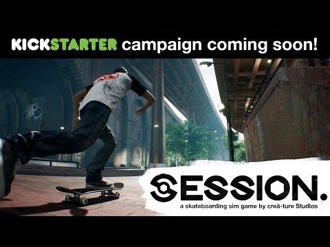 """لعبة التزلج Session """"التتمه الروحية للعبة SKATE"""" تبدأ مرحلة الدعم بتاريخ 21 نوفمبر والديمو متوفر الأن"""