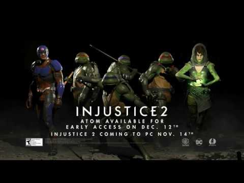 سلاحف الننجا Teenage Mutant Ninja Turtles و Enchantress ينضمون لطاقم شخصيات لعبة Injustice 2