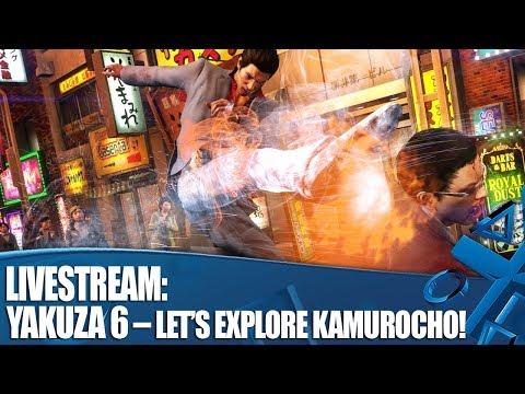 لنشاهد أكثر من ساعة ونصف من لعبة Yakuza 6