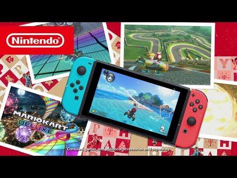 عرض ترويجي جديد للـNintendo Switch يستعرض معه أقوى الألعاب
