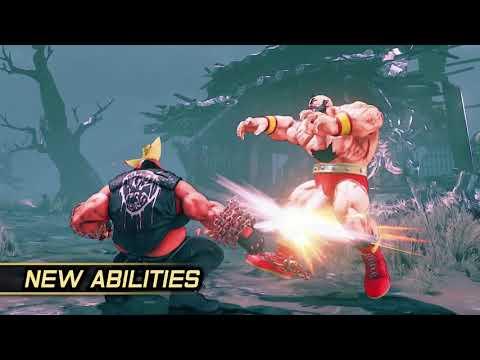 إستعراض ضربات الـV-Trigger الثانية بلعبة Street Fighter V: Arcade Edition
