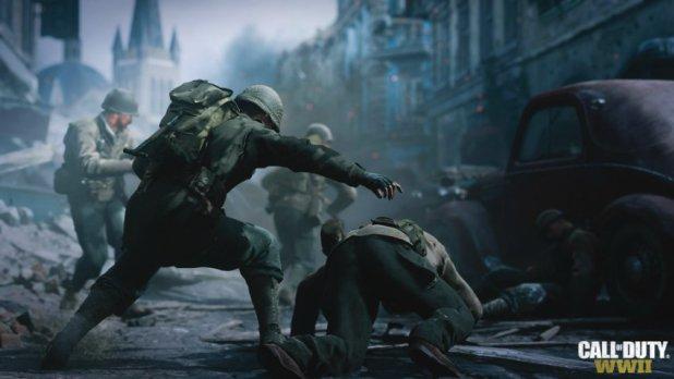 Call of Duty: WWII تسربت لكن لايمكن لعبها دون تحديث اليوم الأول