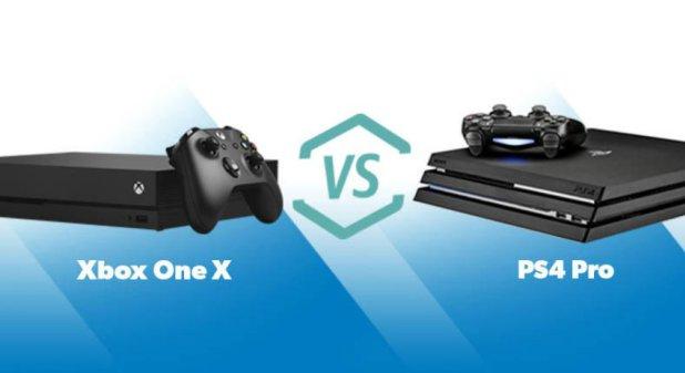 Xbox One X ينطلق من هنا – وسوني بريطانيا تُطلق حزمة PS4 Pro من هنا