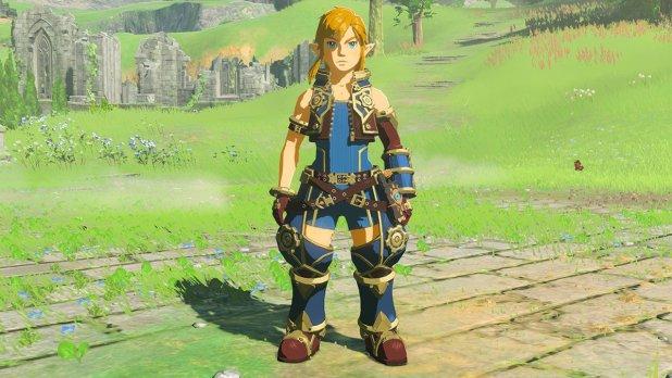 درع بطل Xenoblade Chronicles 2 متاح مجاناً للاعبي Zelda: Breath Of The Wild