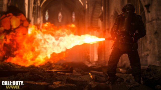عدد لاعبي Call of Duty: WWII أربعة أضعاف لاعبي Infinite Warfare على ستيم