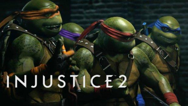 """""""سلاحف النينجا"""" سينضمون لقائمة أبطال Injustice 2 قريبًا"""