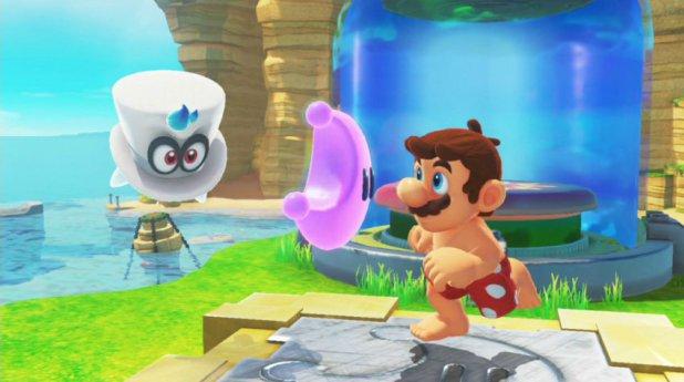خلل تقني في Super Mario Odyssey يمكِّن Cappy من قتل Mario