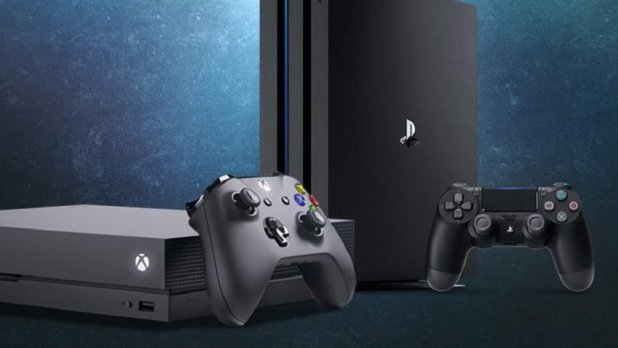 مايكروسوفت تقارن بين مواصفات Xbox One X و PS4 Pro