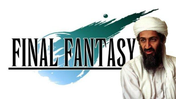 العثور على فيلم Final Fantasy وألعاب فيديو على قرص خاص بأسامة بن لادن