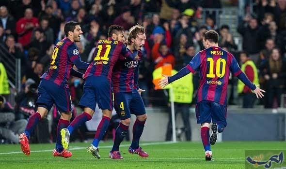 """فريق """"برشلونة"""" يعود بفوز ثمين من """"سان ماميس"""""""
