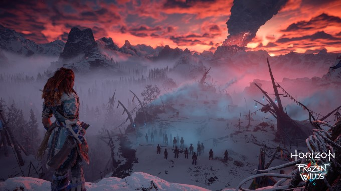 إستعراض المحتوى الإضافي للعبة Horizon Zero Dawn بعنوان The Frozen Wilds