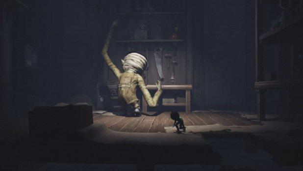 ألغاز معقدة أكثر بالإضافة الثانية المتاحة للعبة Little Nightmares
