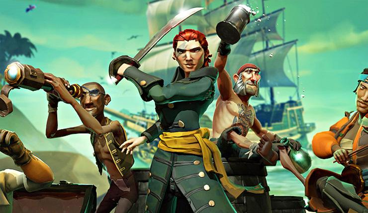 الألفا التقنية للعبة Sea of Thieves ستتوفر للجميع