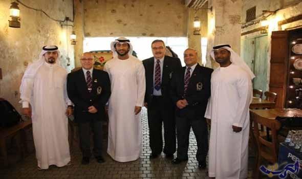 """عبدالله الشرقى """"الإمارات تتطلع إلى استضافة بطولتي العالم وآسيا للقوة البدنية"""""""