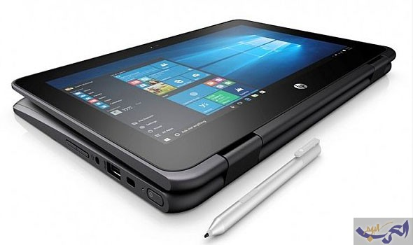 الحاسب  HP ProBook x360 11 EE بمعايير عسكرية تمنحه الصلابة