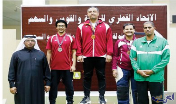 صبري والعلي يحصدان ذهب البندقية رجال وشباب في بطولة قطر للرماية