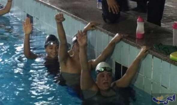 منتخب السباحة للإعاقات الذهنية في معسكر مغلق استعدادًا لكأس العالم