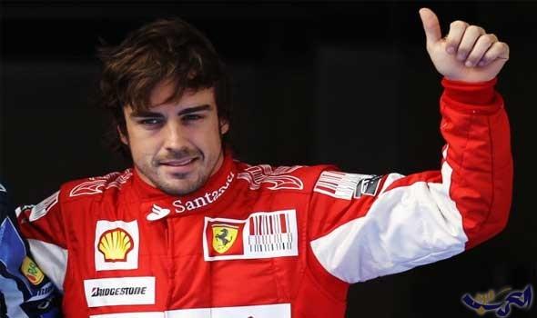 """فرناندو ألونسو يتحدى هاميلتون في الموسم المقبل من """"فورمولا 1"""""""