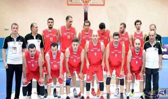 منتخب سوريا لكرة السلة في معسكر أخير استعدادًا لتصفيات كأس العالم