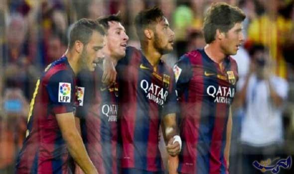 برشلونة يفوز بصعوبة على حساب مضيفه فريق أتلتيك بيلباو بنتيجة 2-0
