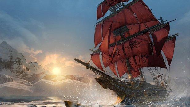 حتى من دون تحديث، سلاسة رسوم Assassin's Creed Rogue عالية على اكسبوكس ون اكس