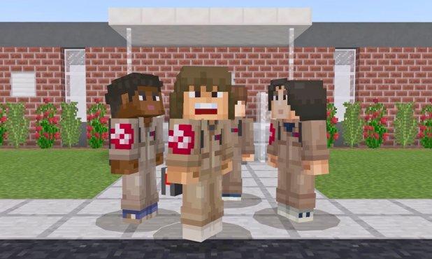 شخصيات مسلسل Stranger Things تغزو عالم Minecraft بأحدث إضافاتها