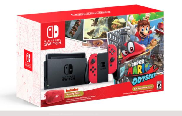 مبيعات حزمة سويتش مع Super Mario Odyssey بلغت 24,000 باليابان