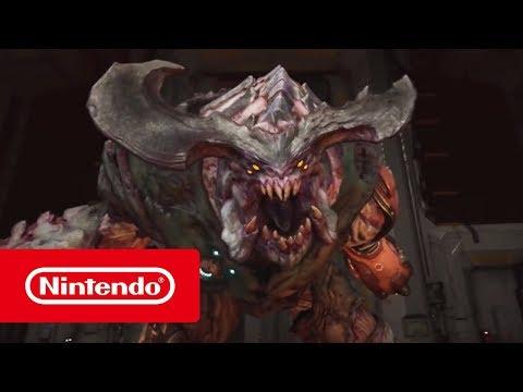 Doom تحصل على فيديو يتفاخر بالإشادة لنسخة Nintendo Switch