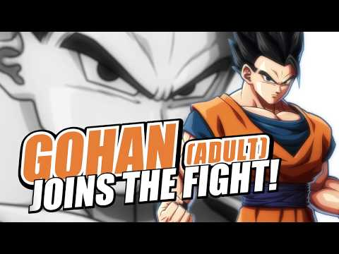 Dragon Ball FighterZ تحصل على فيديو يستعرض شخصية Gohan البالغ