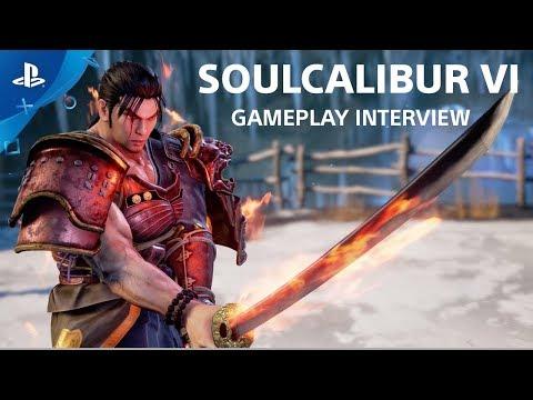 إستعراض أسلوب اللعب بلعبة Soul Cailbur VI و عدد من القتالات بعرض فيديو