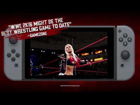 WWE 2K18 قادمة بنسخة الـSwitch غدا وعرض الإطلاق للعبة