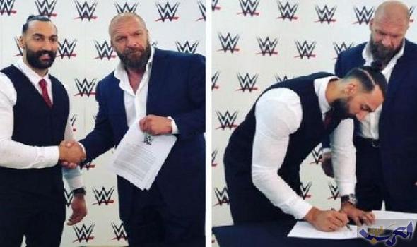 """كويتي ينضم إلى WWE"""""""" لتطوير موهبته والحصول على التدريب"""