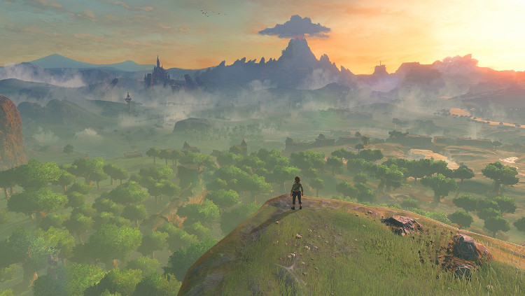 Link كان سيحصل على خاصية للتنقل السريع على غرار Spiderman في لعبة Zelda: Breath of the Wild!