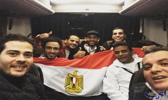 بعثة منتخب الاسكواش تصل القاهرة حاملة لقب بطولة العالم