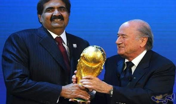 """الـ""""فيفا"""" يبدأ إجراءات سحب تنظيم مونديال 2022 من قطر"""