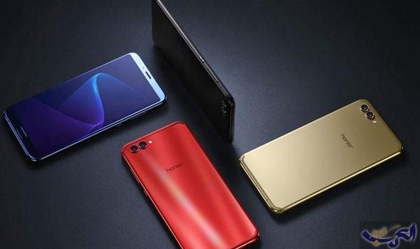هواتف محمولة هواوي تعلن عن هاتف Honor V10 مع شاشة طويلة وكاميرتين خلفيتين