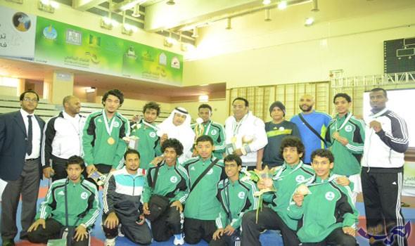 ختام منافسات التجمّع الثاني لبطولات الاتحاد الرياضي للجامعات السعودية