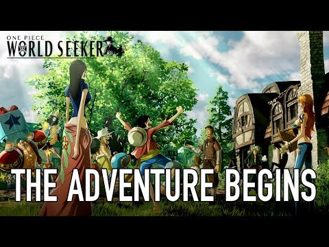 "One Piece: World Seeker وعرض جديد لما خلف الكواليس ""المغامرة تبدأ!"""