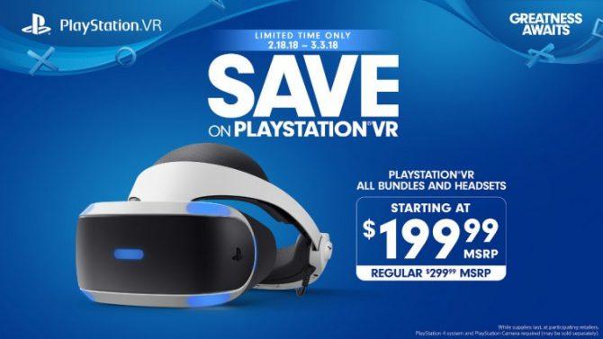 سوني تقدم عروض التخفيضات بسعر الـPlayStation VR لفترة محدودة