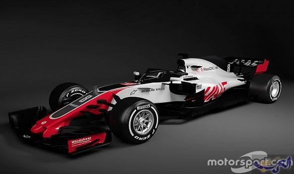 """""""هاس"""" أول فريق في فورمولا 1 يكشف عن سيارته في 2018"""