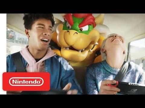 """عرض ترويجي جديد للـNintendo Switch بعنوان """"تجمعوا سويا مع العاب رائعة بأي مكان وبأي وقت"""""""