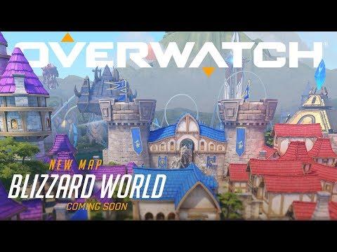الكشف عن خريطة Blizzard World للعبة Overwatch