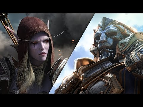 الكشف عن توسعة Battle for Azeroth للعبة World of WarCraft و عرض سينمائي مميز