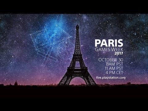 """البث المباشر لمؤتمر بلايستيشن """"PlaystationPGW"""" في أسبوع باريس للألعاب 2017"""